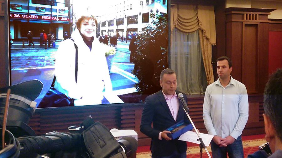 Марин Николов е носителят на голямата награда за 2015 г. за разследваща журналистика